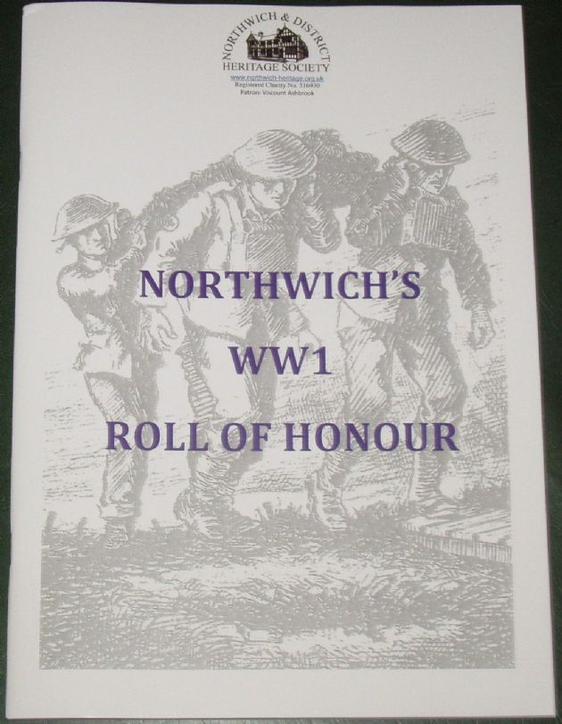 Northwich's WW1 Roll of Honour
